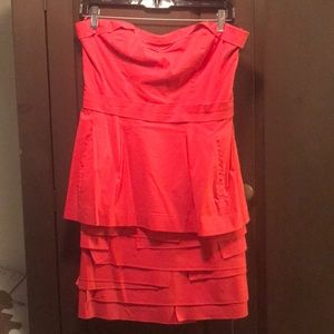 BCBG Red Berry Cocktail Dress
